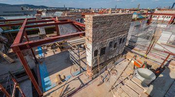 Baustelle Dachgeschoßausbau, Garnisongasse 11, 1090 Wien
